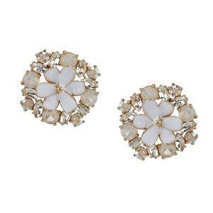Kate Spade NY Here Comes Sun Crystal Earrings